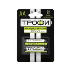 Аккумулятор Трофи AА 2500mAh 2шт. (HR6-2BL)
