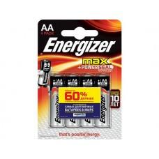 Батарейка Energizer MAX AA 4шт. (LR6)