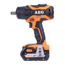 Гайковерт AEG BSS18C12ZBL LI-402C