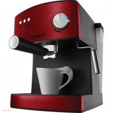 Кофеварка рожковая Polaris PCM 1528AE бордовый