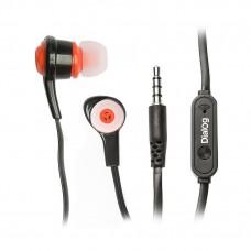 Проводные наушники с микрофоном Dialog ES-50 (black)
