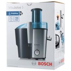 Соковыжималка электрическая Bosch MES3500 серебристый