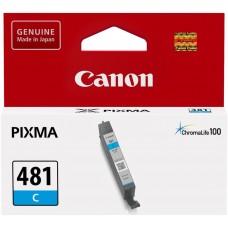 Картридж CANON CLI-481 C голубой [2098c001] для Pixma TS6140/TS8140TS/TS9140/TR7540/TR8540