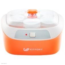 Йогуртница Kitfort КТ-2020 оранжевый