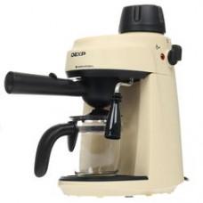 Кофеварка рожковая DEXP EM-801 бежевый