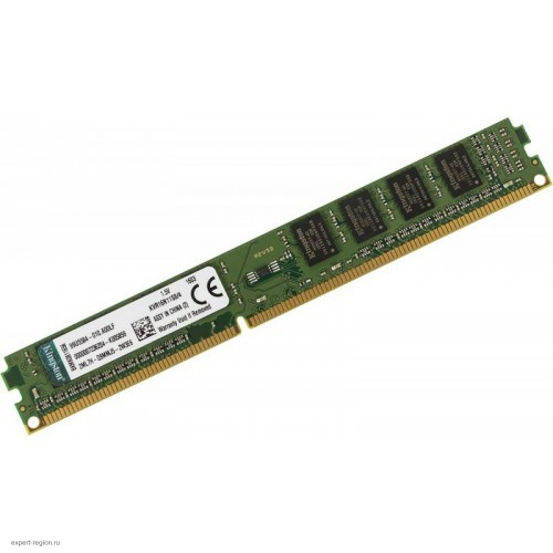 Модуль DIMM DDR3 SDRAM 4096 Мb (PC12800, 1600MHz) non-ECC CL11 Kingston (KVR16N11S8/4)
