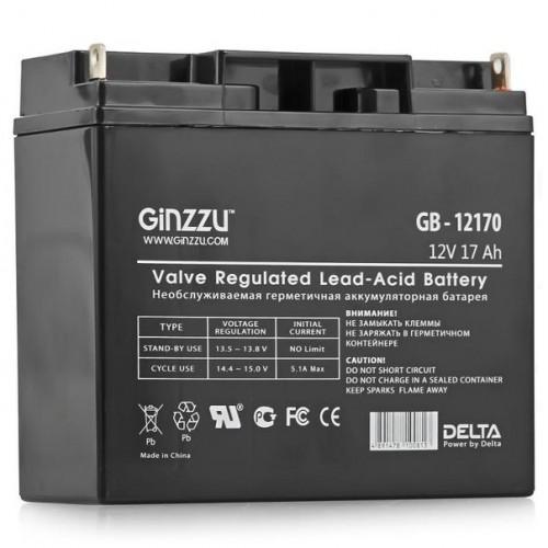 Аккумулятор 12V 17Ah Ginzzu GB-12170