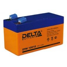 Аккумулятор DELTA DTM 12012 12v 1.2Ah (97х43х58мм)