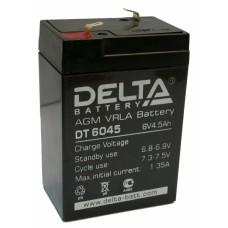 Аккумулятор DELTA DT 6045 6v 4.5Ah (101х70х47мм)