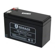 Аккумулятор  12V  7.2Ah KRAULER свинцово-кислотн. (KR-BAT-12/7.2)