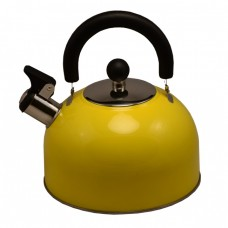 Чайник газовый 2,5л. КАТУНЬ КТ-105J желтый