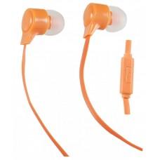 Наушники с микрофоном Внутриканальные Perfeo HANDY Оранжевые