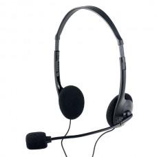 Наушники с микрофоном Накладные Perfeo CHAT Черные