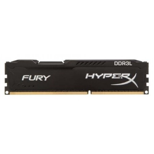 Модуль DIMM DDR3L SDRAM 8192 Mb Kingston HyperX FURY Black Series