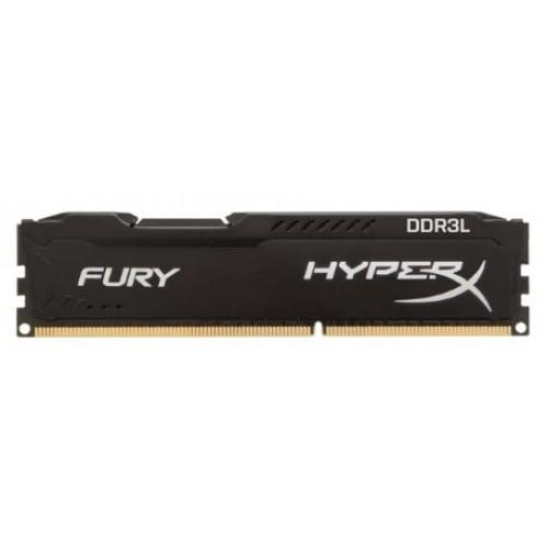 Модуль DIMM DDR3L SDRAM 8192 Mb Kingston HyperX FURY Black Series