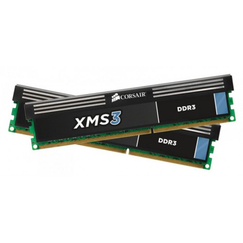 Комплект модулей DIMM DDR3 SDRAM 2*4096Mb Corsair