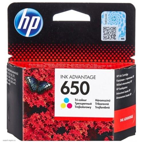 Картридж CZ102AE(№650) HP Deskjet Ink Advantage 2515/3515 цветной
