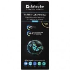 Спрей для мониторов Defender CLN 30500 Optima 500мл + микрофибра