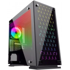 Корпус ATX GameMax H605-TB, USB3.0 на передней панели, черн. Без БП