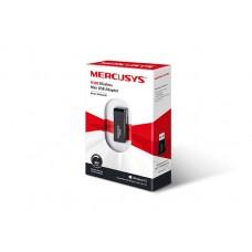 Беспроводной адаптер Mercusys MW300UM, 802.11n, до 300Mb/c, mini, USB
