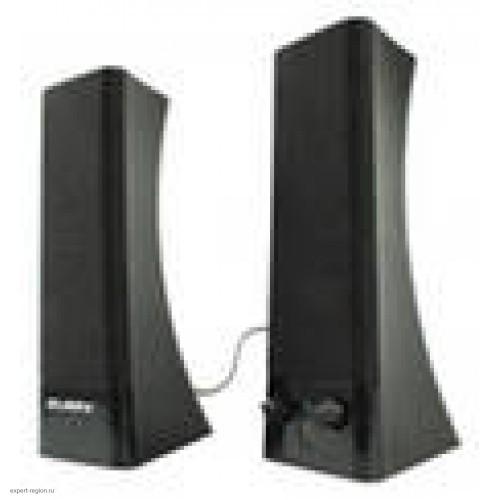 Акустическая система 2.0 SVEN 235 (2x2W пластик) black