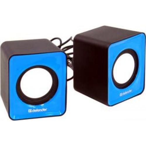 Акустическая система 2.0 Defender SPK-22, 2x2.5W, USB, синий