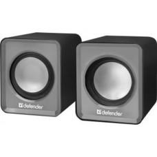 Акустическая система 2.0 Defender SPK-22, 2x2.5W, USB, серый