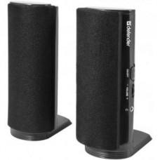 Акустическая система 2.0 Defender SPK-210, 2x2W, чёрный