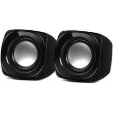 Акустическая система 2.0 SVEN 120 (5W пластик) черный портативные