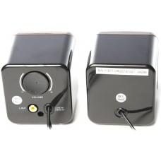 Акустическая система 2.0 Defender SPK-33, 2x2.5W, USB, черный