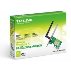 Адаптер беспроводной TP-LINK TL-WN781ND (150Мбит/с, съемн. антенна, PCI-E)