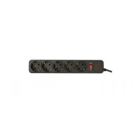 Фильтр сетевой PC Pet AP01006-5-BK 5м (5 розеток) black