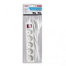 Удлинитель Buro BU-PS5.5/W 5 розеток, 5м, White