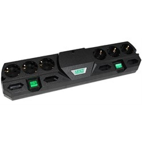 Фильтр сетевой MOST TRG 10-розеток 2.0м. black (коробка)