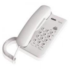 Телефон BBK BKT-74 RU белый проводной
