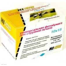 Бумага Hi-image paper для фотопечати 10x15, 170 г/м2, 500 листов, глянцевая односторонняя