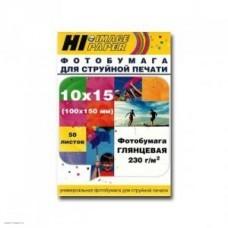 Бумага Hi-image paper для фотопечати 10x15, 230 г/м2, 50 листов, глянцевая односторонняя