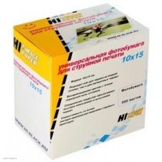 Бумага Hi-image paper для фотопечати 10x15, 210 г/м2, 500 листов, глянцевая односторонняя