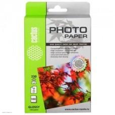 Фотобумага Cactus CS-GA6230100 10x15, 230г/м2,100л., глянцевое для струйной печати