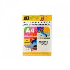 Бумага Hi-image paper для фотопечати А4, 210 г/м2, 20 листов, глянцевая односторонняя(A200400U)