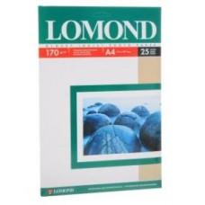 Бумага Lomond для струйной печати А4, 170 г/м2, 25 листов, глянцевая (0102143)