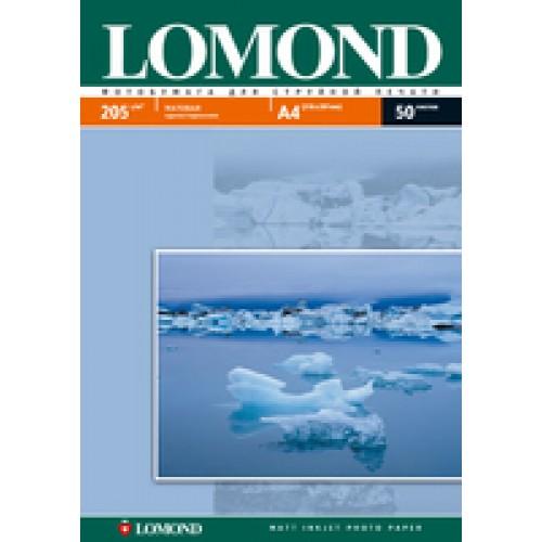 Бумага Lomond для струйной печати А4, 205 г/м2, 50 листов, матовая (0102085)