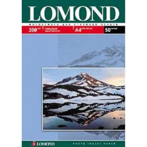 Бумага Lomond для струйной печати А4, 200 г/м2, 50 листов, глянцевая (0102020)