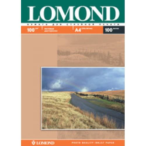 Бумага Lomond для струйной печати А4, 100 г/м2, 100 листов, матовая двусторонняя (0102002)
