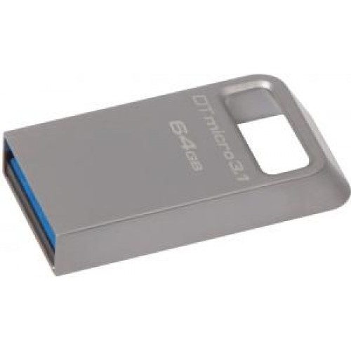 Накопитель USB 3.0 Flash Drive 64Gb Kingston DT Micro 3.1 (DTMC3/64GB)