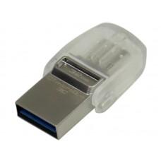 Накопитель USB 3.0 Flash Drive 32Gb Kingston DT microDUO 3C USB 3.0/3.1 (DTDUO3C/32GB)