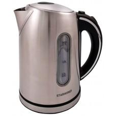 Чайник Starwind SKS4210 серебристый матовый 1.7л. 2200Вт