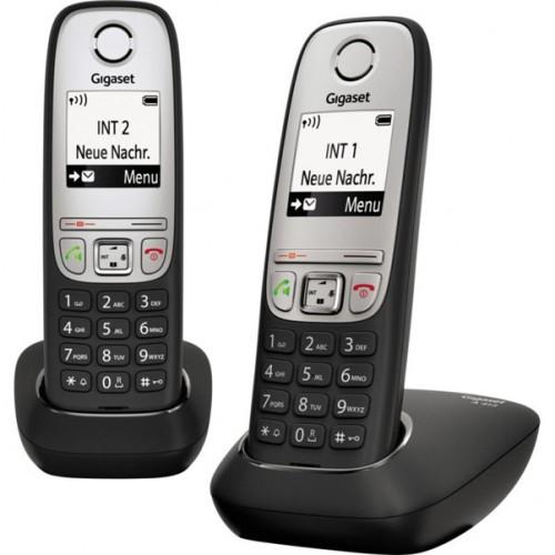 "Радиотелефон GIGASET A415 Duo black 1.8"""