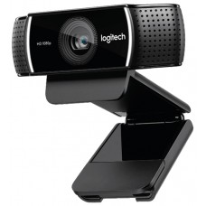 Web-камера Logitech HD Pro Webcam C922 black (960-001088)