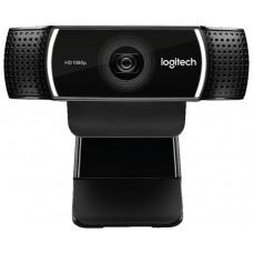 Web-камера Logitech HD Pro Webcam C922 black (960-001088)
